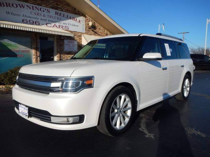2014 Ford Flex for sale at Browning's Reliable Cars & Trucks in Wichita Falls TX