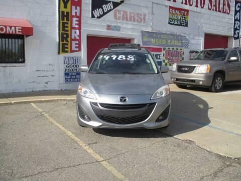 2012 Mazda MAZDA5 for sale at Summit Auto Sales Inc in Pontiac MI