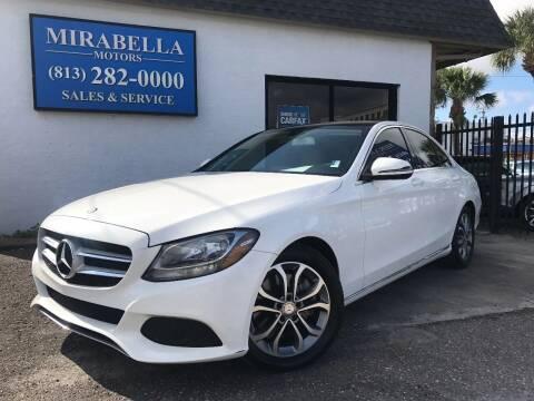 2016 Mercedes-Benz C-Class for sale at Mirabella Motors in Tampa FL