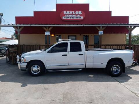 2004 Dodge Ram Pickup 3500 for sale at Taylor Trading Co in Beaumont TX