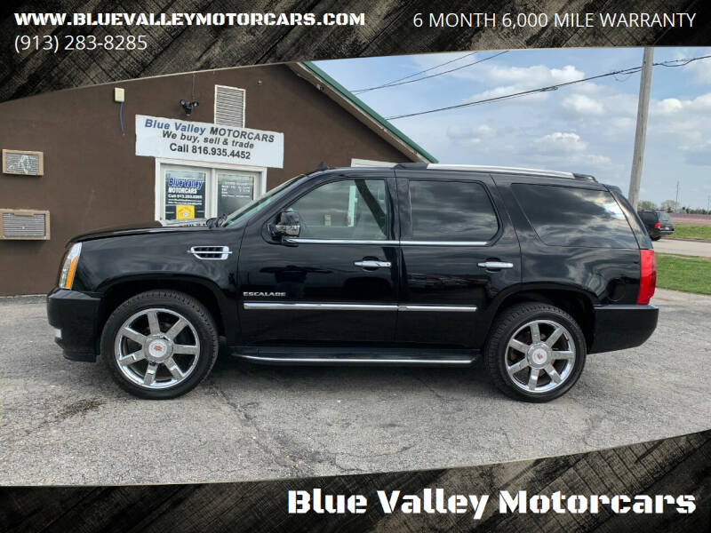 2012 Cadillac Escalade for sale at Blue Valley Motorcars in Stilwell KS