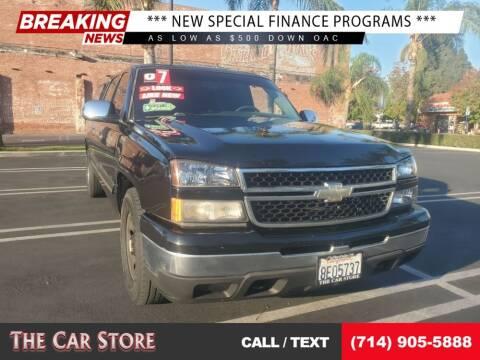 2007 Chevrolet Silverado 1500 Classic for sale at The Car Store in Santa Ana CA