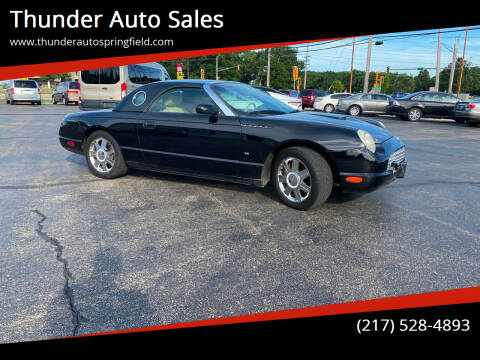 2004 Ford Thunderbird for sale at Thunder Auto Sales in Springfield IL