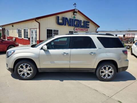 "2015 GMC Acadia for sale at UNIQUE AUTOMOTIVE ""BE UNIQUE"" in Garden City KS"