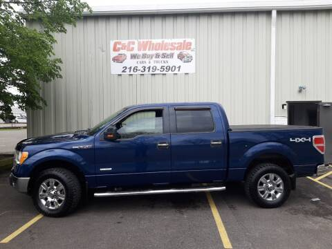 2011 Ford F-150 for sale at C & C Wholesale in Cleveland OH