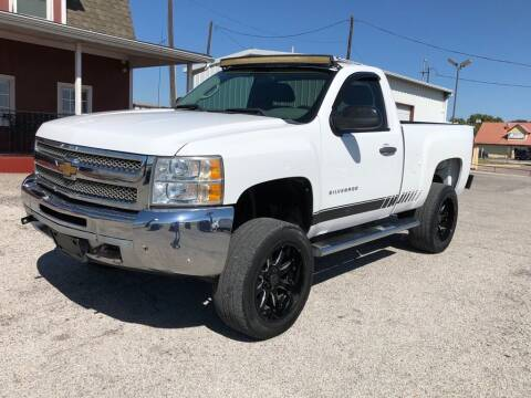 2012 Chevrolet Silverado 1500 for sale at Decatur 107 S Hwy 287 in Decatur TX