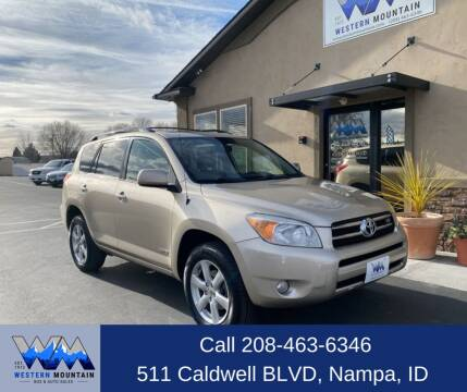 2007 Toyota RAV4 for sale at Western Mountain Bus & Auto Sales in Nampa ID
