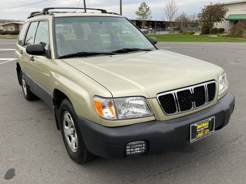 2002 Subaru Forester for sale at Shell Motors in Chantilly VA
