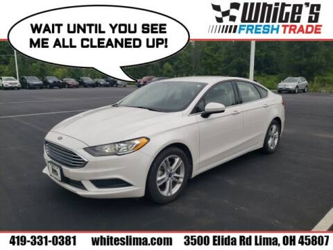 2018 Ford Fusion for sale at White's Honda Toyota of Lima in Lima OH
