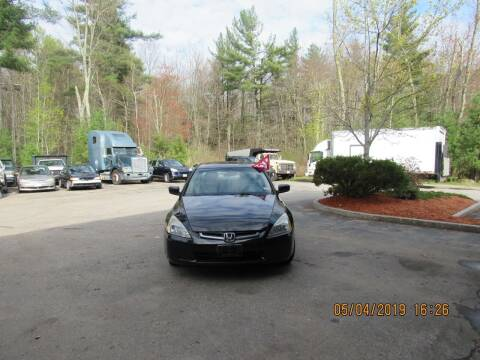 2003 Honda Accord for sale at Heritage Truck and Auto Inc. in Londonderry NH
