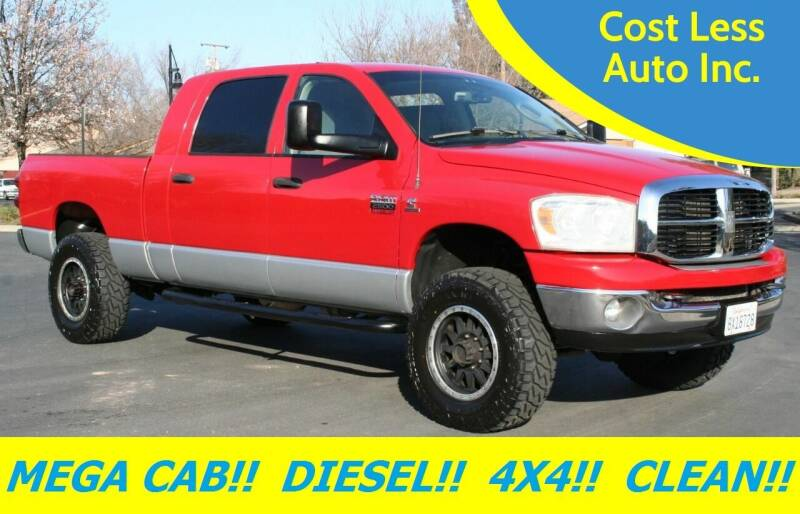 2007 Dodge Ram Pickup 2500 for sale at Cost Less Auto Inc. in Rocklin CA