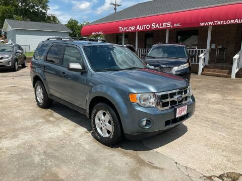 2012 Ford Escape for sale at Taylor Auto Sales Inc in Lyman SC