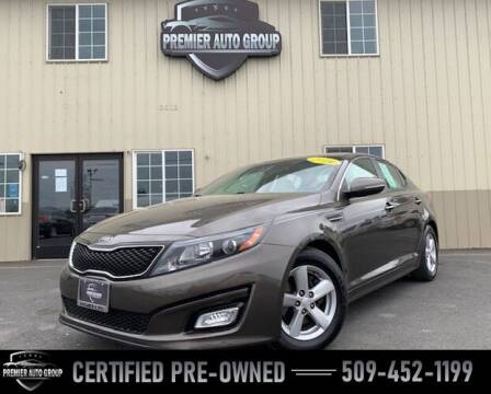 2014 Kia Optima for sale at Premier Auto Group in Union Gap WA