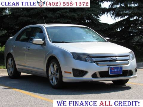 2011 Ford Fusion for sale at NY AUTO SALES in Omaha NE