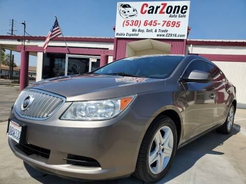 2011 Buick LaCrosse for sale at CarZone in Marysville CA