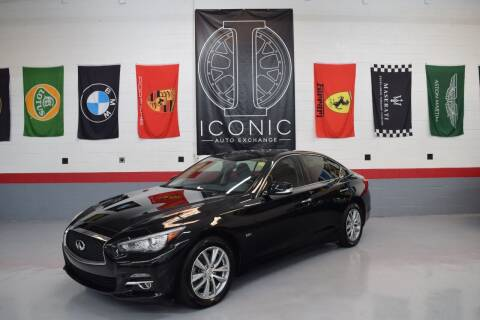 2016 Infiniti Q50 for sale at Iconic Auto Exchange in Concord NC