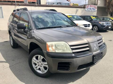 2004 Mitsubishi Endeavor for sale at TMT Motors in San Diego CA
