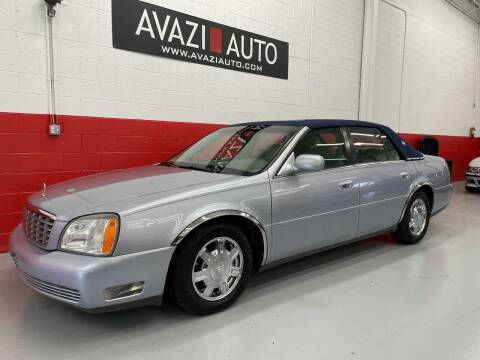 2005 Cadillac DeVille for sale at AVAZI AUTO GROUP LLC in Gaithersburg MD