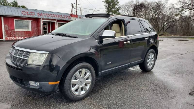 2007 Lincoln MKX for sale at GEORGIA AUTO DEALER, LLC in Buford GA
