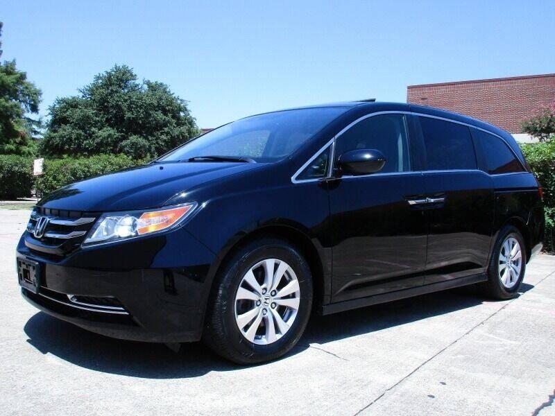 2015 Honda Odyssey for sale at Italy Auto Sales in Dallas TX