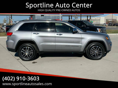 2017 Jeep Grand Cherokee for sale at Sportline Auto Center in Columbus NE