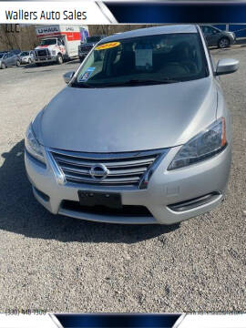 2014 Nissan Sentra for sale at Wallers Auto Sales LLC in Dover OH