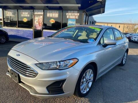 2019 Ford Fusion Hybrid for sale at Cow Boys Auto Sales LLC in Garland TX