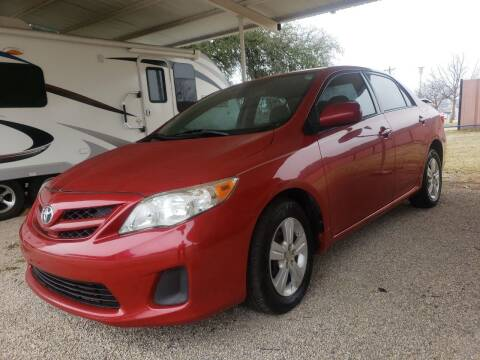 2011 Toyota Corolla for sale at HAYNES AUTO SALES in Weatherford TX