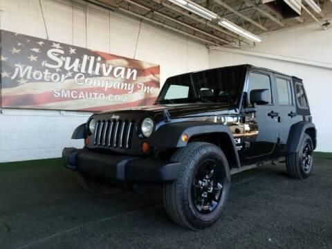 2007 Jeep Wrangler Unlimited for sale at SULLIVAN MOTOR COMPANY INC. in Mesa AZ