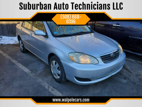 2006 Toyota Corolla for sale at Suburban Auto Technicians LLC in Walpole MA