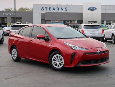 2019 Toyota Prius for sale at Stearns Ford in Burlington NC
