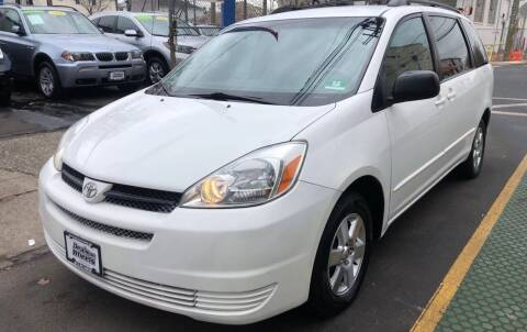 2005 Toyota Sienna for sale at DEALS ON WHEELS in Newark NJ