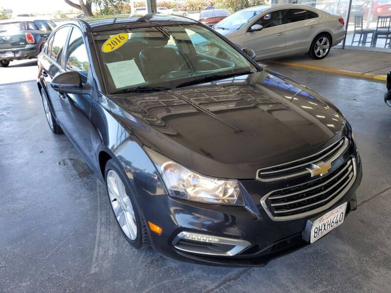 2016 Chevrolet Cruze Limited for sale at Sac River Auto in Davis CA