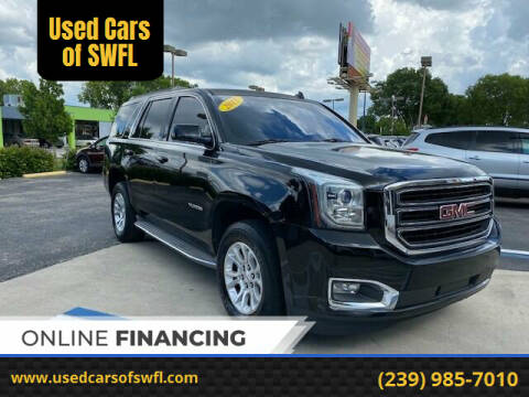 2015 GMC Yukon for sale at Used Cars of SWFL in Fort Myers FL