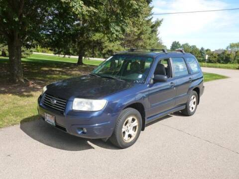 2006 Subaru Forester for sale at HUDSON AUTO MART LLC in Hudson WI