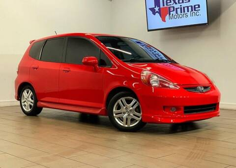 2008 Honda Fit for sale at Texas Prime Motors in Houston TX