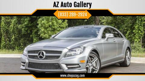 2013 Mercedes-Benz CLS for sale at AZ Auto Gallery in Mesa AZ