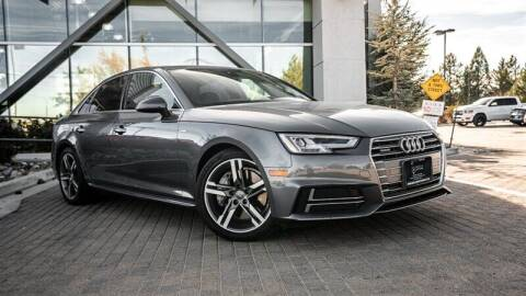 2017 Audi A4 for sale at MUSCLE MOTORS AUTO SALES INC in Reno NV