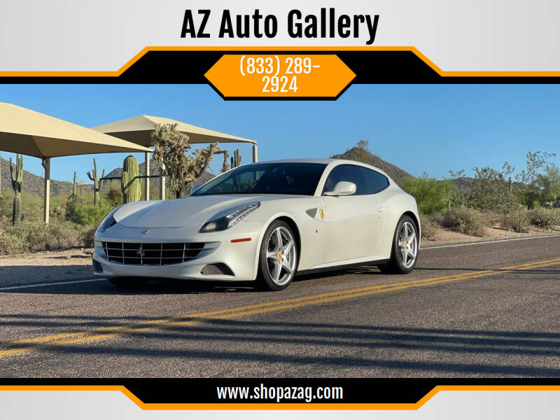 2012 Ferrari FF for sale at AZ Auto Gallery in Mesa AZ