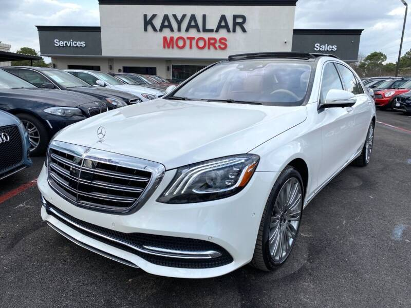 2019 Mercedes-Benz S-Class for sale at KAYALAR MOTORS in Houston TX