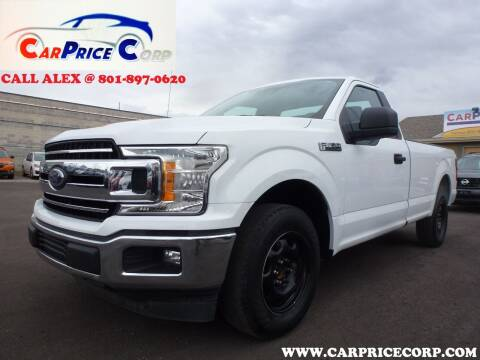 2019 Ford F-150 for sale at CarPrice Corp in Murray UT