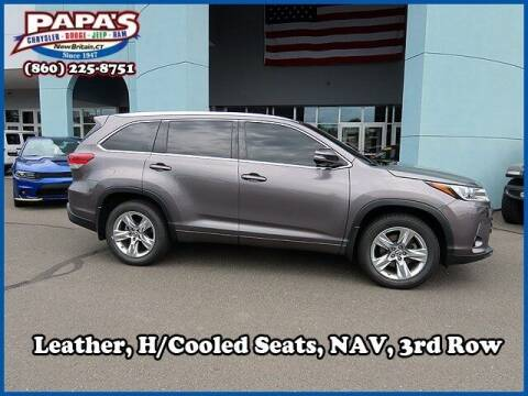 2017 Toyota Highlander for sale at Papas Chrysler Dodge Jeep Ram in New Britain CT