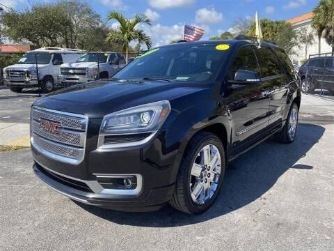2014 GMC Acadia for sale at EZ Own Car Sales of Miami in Miami FL
