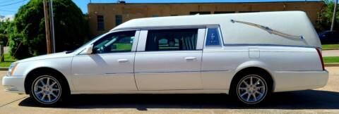 2011 Cadillac DTS Pro for sale at FRANSISCO & MONROE FUNERAL CAR SALES LLC in Tulsa OK