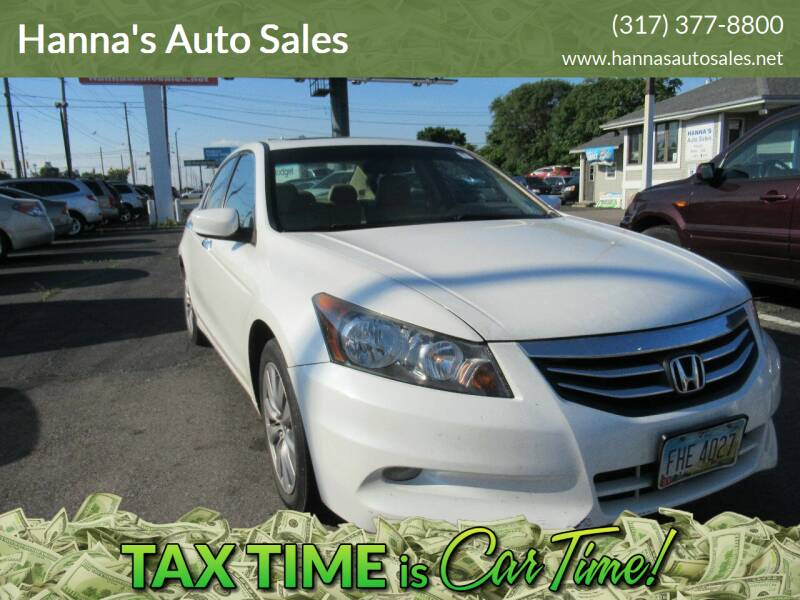 2012 Honda Accord for sale at Hanna's Auto Sales in Indianapolis IN