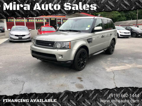 2011 Land Rover Range Rover Sport for sale at Mira Auto Sales in Raleigh NC