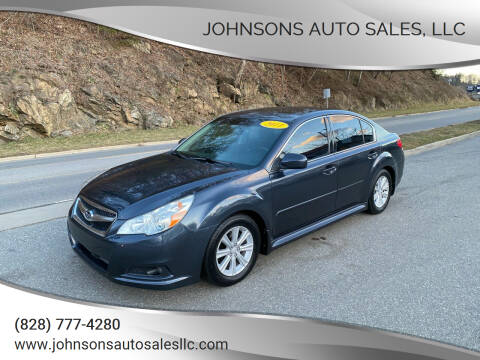 2011 Subaru Legacy for sale at Johnsons Auto Sales, LLC in Marshall NC