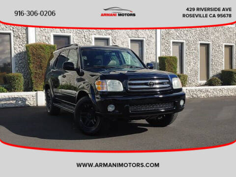 2003 Toyota Sequoia for sale at Armani Motors in Roseville CA