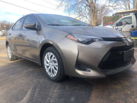 2018 Toyota Corolla for sale at Creekside Automotive in Lexington NC