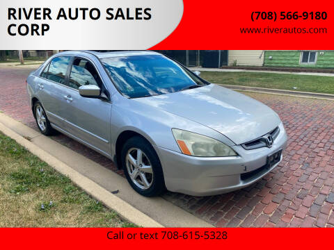 2004 Honda Accord for sale at RIVER AUTO SALES CORP in Maywood IL